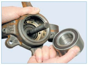Пошаговая инструкция по замене подшипника ступицы на автомобиле Nissan